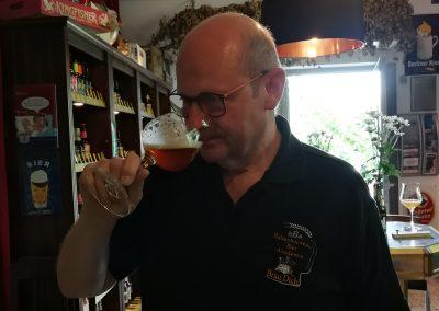 Beim Tasting